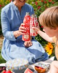 Duo de bouteilles isothermes Qwetch & pochette de transport - enfant maman