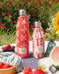 Duo de bouteilles isothermes Qwetch & pochette de transport - pique nique