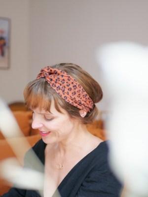 Bandeau cheveux - Trinquette Artisanat - Coloris Make Léopard