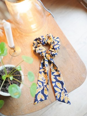 Chouchou foulard - Foulchie - Trinquette Artisanat