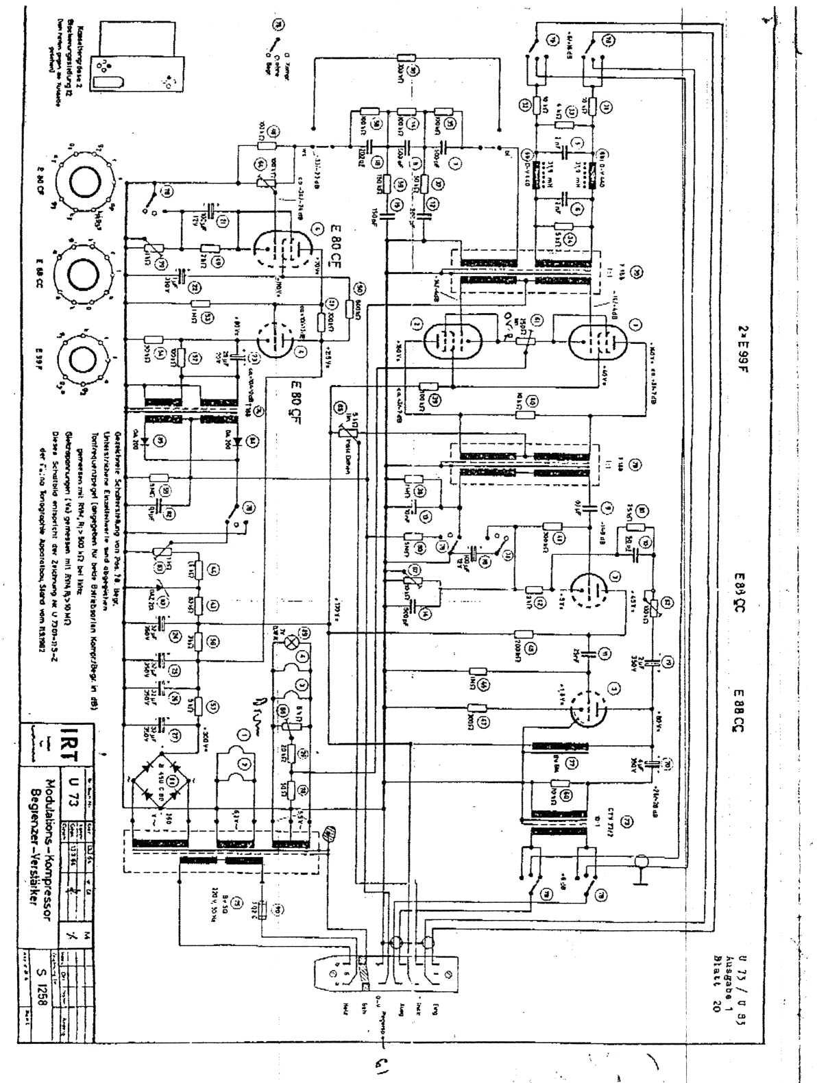 Triode Electronics On Line Studio Electronics Diagrams