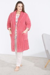 bata rosa talla grande