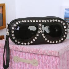 bolso forma de gafas