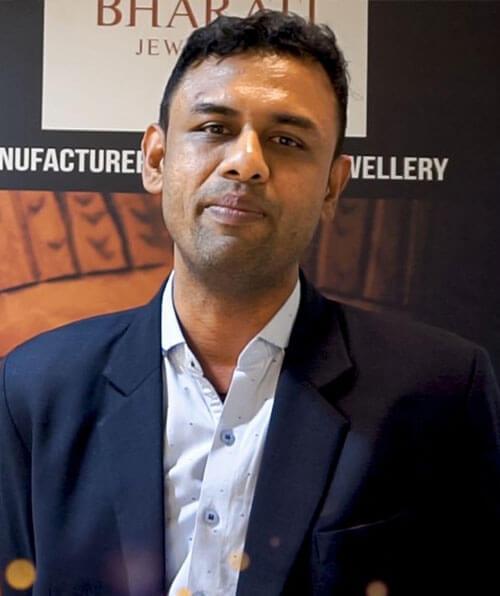 Mr. Jayesh Gemavat, Proprietor of Bharati Jewellers