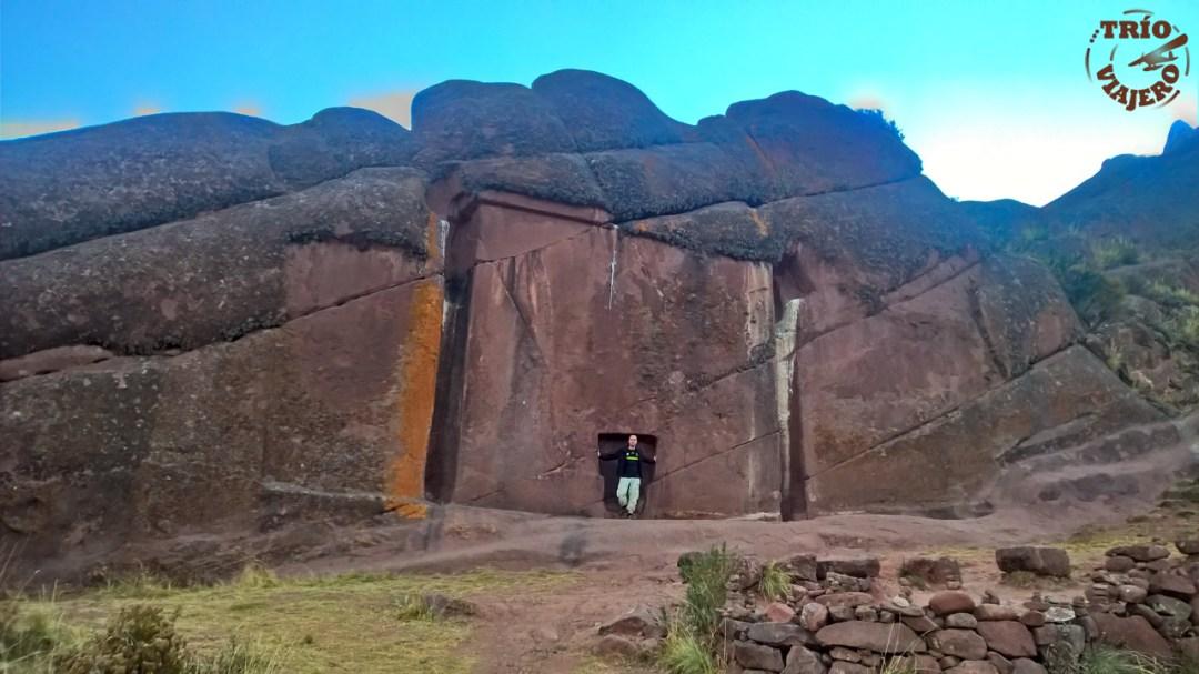 Puerta de Hayu Marka (Puno - Perú - América)