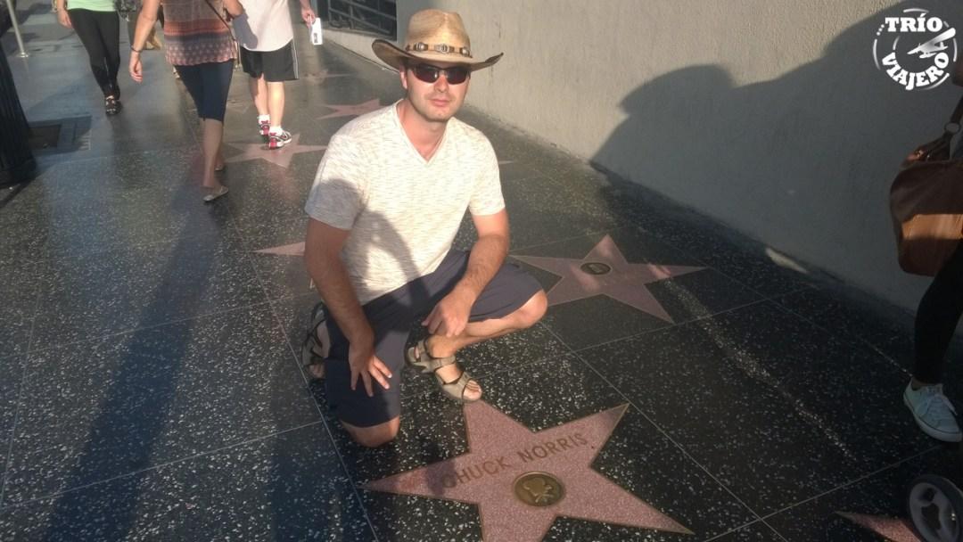 Hollywood Walk of Fame (Los Ángeles - California - EEUU) ⋆ Trio Viajero