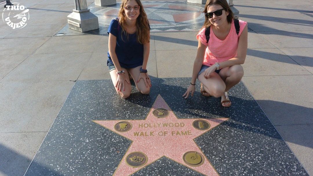 Hollywood Walk of Fame (Los Ángeles - California - EEUU) ⋆ Trio Viajero