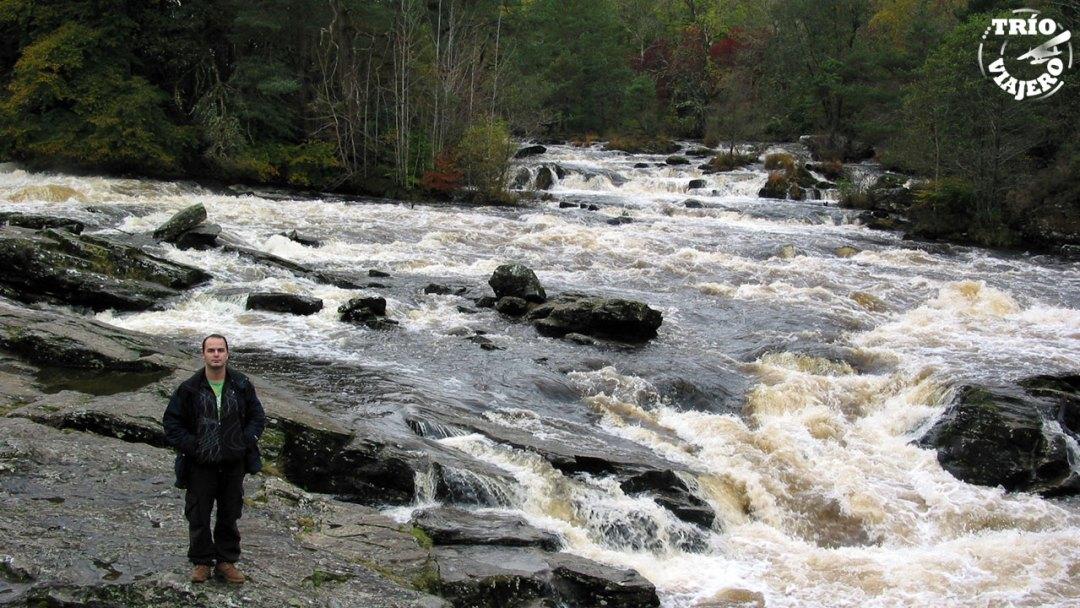Cascadas de Dochart (Highlands - Escocia - Europa) ⋆ Trío Viajero