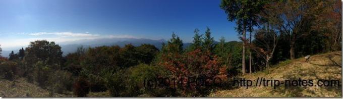 関八州見晴台からの景色