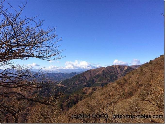 大山から富士山