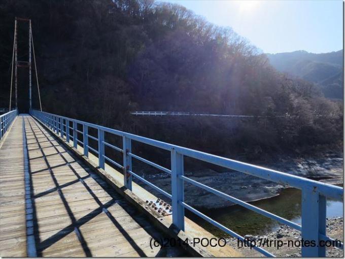 谷峨駅吊り橋