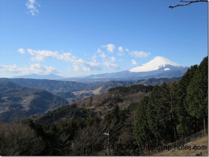 大野山からの富士山