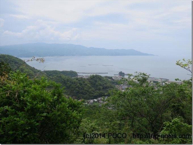 奥駿河パノラマ台からの眺望
