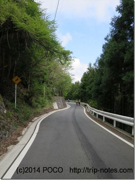 ヤビツ峠車道