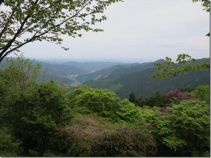 御嶽山駅からの眺望