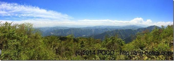 大岳山眺望