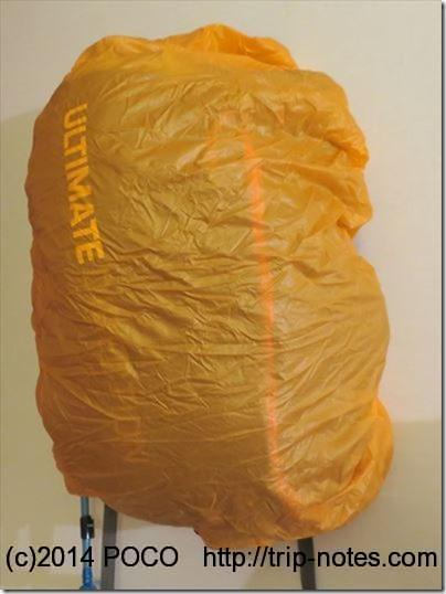 Fastpack 30のザックカバー