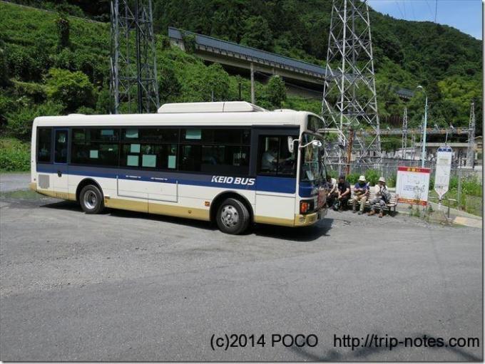 小仏バス停