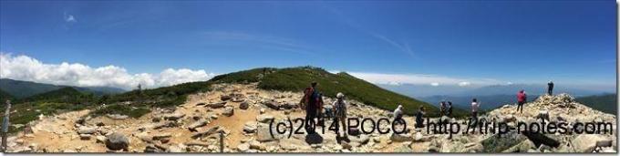 金峰山登山道