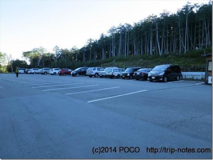 白駒池駐車場