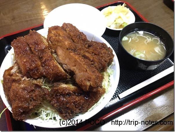 玉龍飯店ソースカツ丼