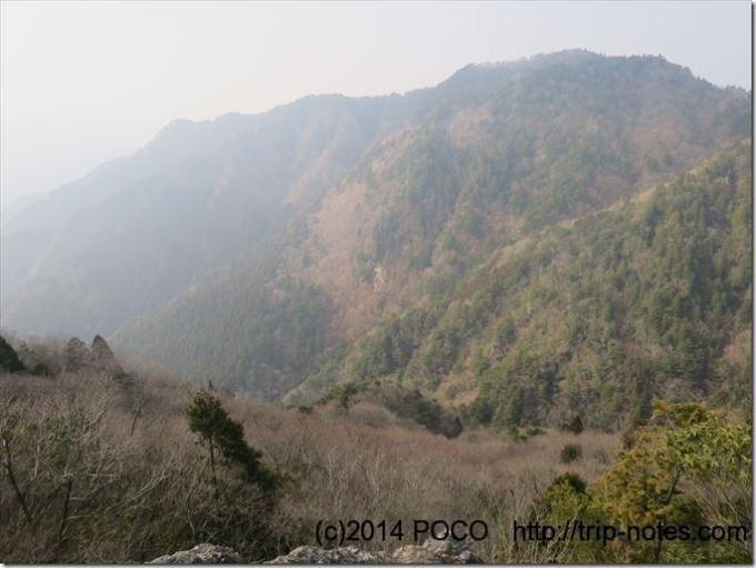 雪彦山_大天井岳からの眺望