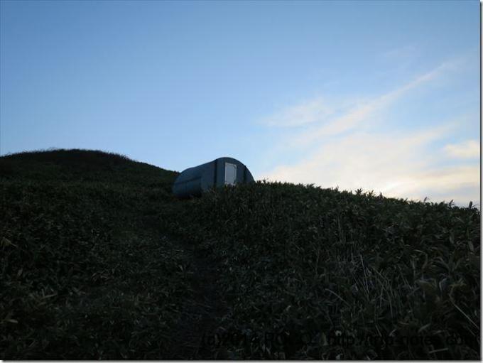 オジカ沢の頭避難小屋