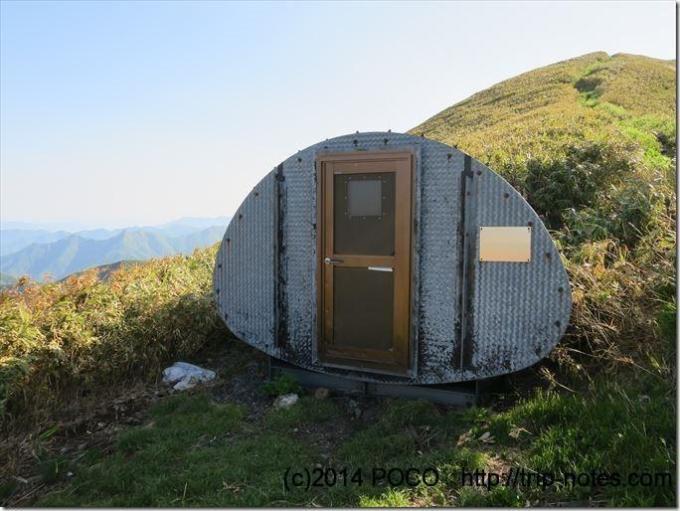越路避難小屋