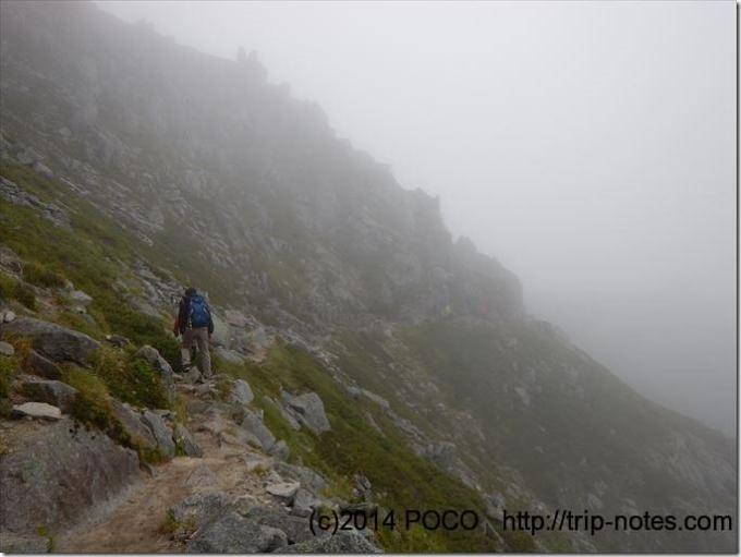 中岳の巻き道