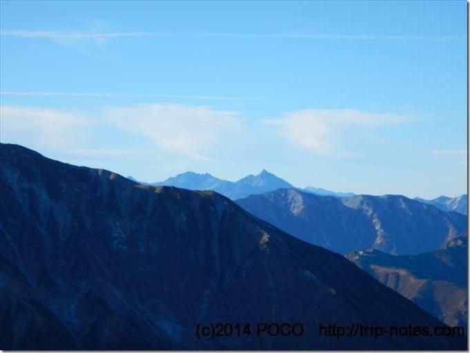 五龍岳山頂からの眺望