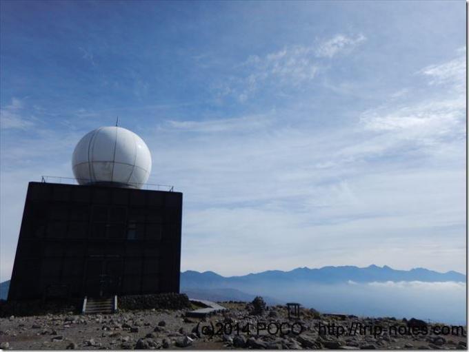 霧ヶ峰高原気象レーダー