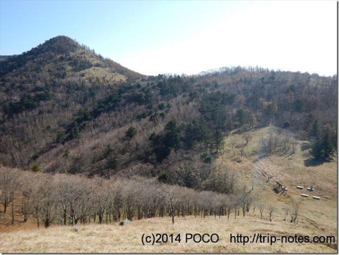 笠取山と雁峠