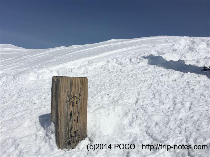 谷川岳雪山登山オキノ耳
