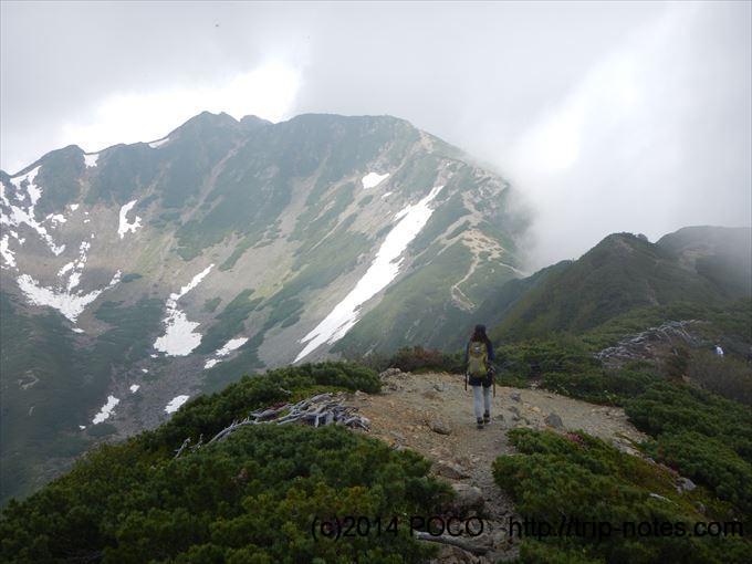 仙丈ヶ岳登山