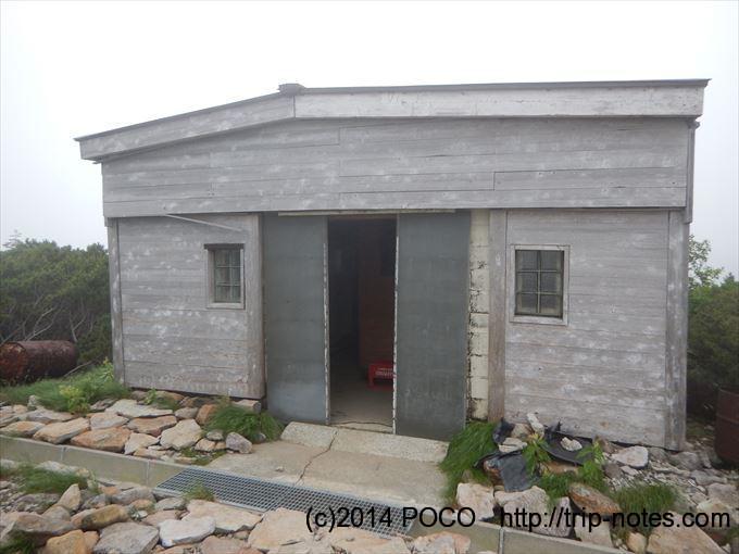 五色ヶ原キャンプ場のトイレ