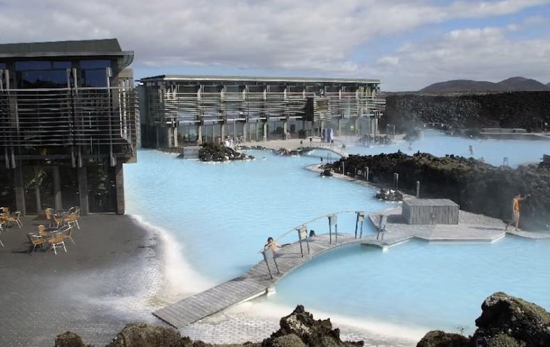Kék lagúna izlandi termékek pikkelysömör