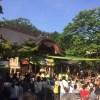 深大寺で「国宝白鳳仏 奉迎式」を見学