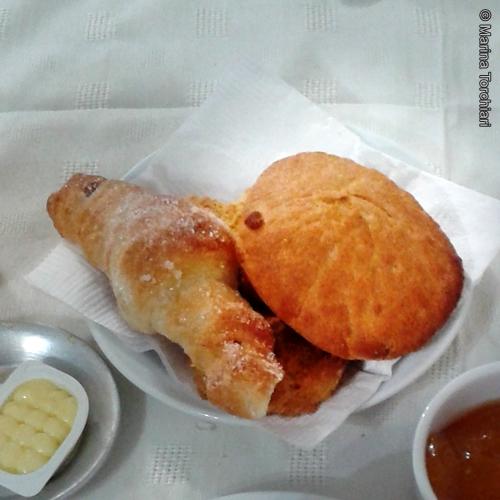 Desayuno tortita Mendoza