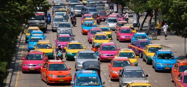 Таинственный и непостижимый Бангкок, транспорт в Бангкоке