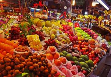 Кухня Таиланда: Фрукты