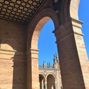 plaza de Espana, Séville