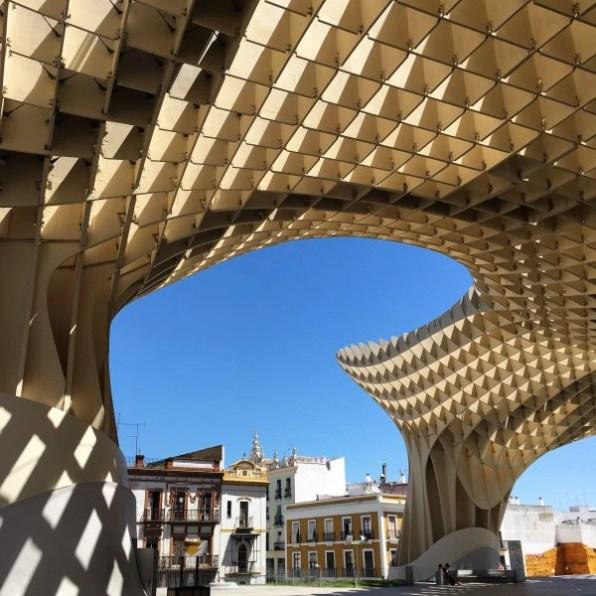 metropol parasol, Séville