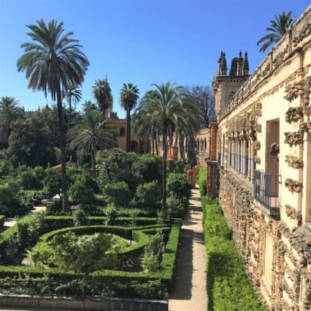 jardins de l'Alcazar, Séville