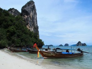 long tail boat, Thaïlande