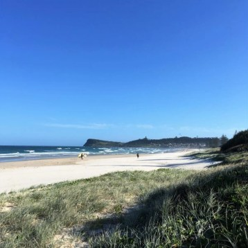 seven mile beach, Lennox Head