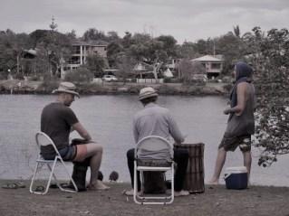 musique de fin de journée en bord de rivière