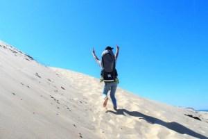 montée de la dune du pilat