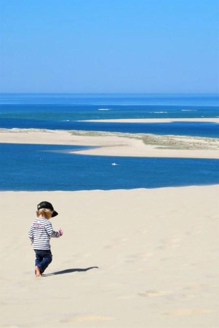 dune du pilat, vue sur le banc d'arguin