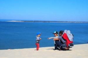 dune du pilat, vue sur le cap ferret