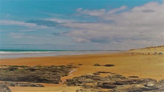 plage de sauveterre sables d olonne